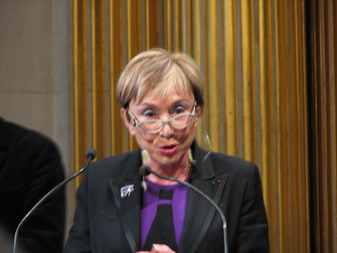 Julia Kristeva, the French philosopher who is a Consulting Editor for Interlitq