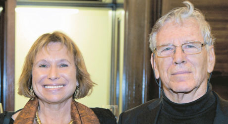 Fania Oz-Salzberger and Amos Oz