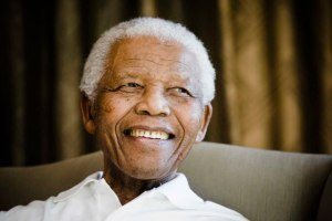 Nelson Mandela. (AP Photo/Pool-Theana Calitz-Bilt)