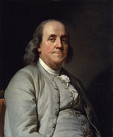Benjamin Franklin, 6th President of Pennsylvania