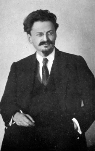 León Trotski en 1917