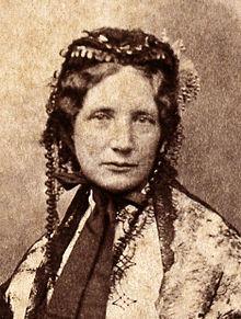 Harriet Beecher Stowe circa 1852