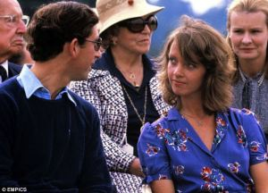 The pair, pictured in 1979, dated for about nine months and Princess Margaret said their relationship was 'serious'
