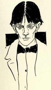 Aubrey Beardsley self-portrait