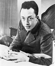 Albert Camus, Portrait from New York World-Telegram and Sun Photograph Collection, 1957