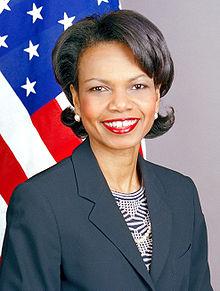 Condoleeza Rice in February 2005