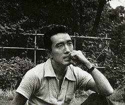Yukio Mishima, Photograph by Shirou Aoyama (1956)
