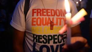 """GAMBIA. El presidente aprobó un polémico proyecto en el que se criminaliza a quienes practiquen la """"homosexualidad agravada. (AFP)"""