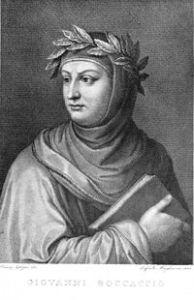 Giovanni Boccaccio by Raffaello Sanzio Morghen