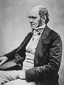 Darwin, aged 45 in 1854, by then working towards publication of On the Origin of Species