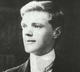 D. H. Lawrence at age 21 in 1906