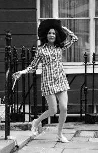Younger years: Joan Bakewell as a journalist