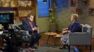 Bachelet anunció el miércoles pasado que había pedido la renuncia de todo su gabinete en una entrevista con Don Francisco.
