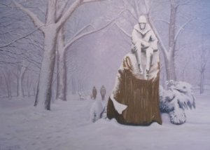 Eternal Solitude in Winter by Sergio Roffo