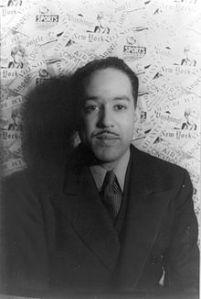 Langston Hughes in 1936 photo by Carl Van Vechten