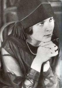 Elsa Triolet in 1925