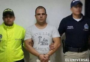 Bolívar fue capturado este jueves por Interpol Colombia (Cortesía)