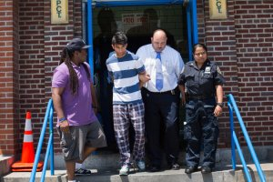Hassan Razzaq stabbed his father, Mohammad Razzaq, on Saturday night at their home in Brooklyn, the police said. Credit Kevin Hagen for The New York Times