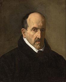 Luis de Góngora, in a portrait by Diego Velázquez.