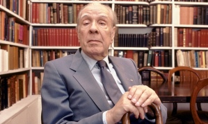 Having Aleph ... Jorge Luis Borges at home in Buenos Aires in 1983. Photograph: Christopher Pillitz/Getty Images
