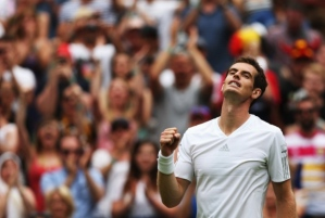Andy Murray comes from a middle class family in a small Scottish town. Picture: Getty