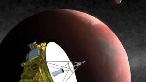 Sonda espacial investigacion planeta Plutón New Horizons. Gentileza: EFE.