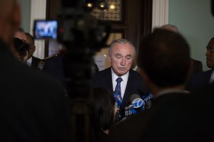 Police Commissioner William J. Bratton testified at a City Council hearing that a few hundred people who fueled rounds of retaliatory shootings were a police priority. Credit Michael Appleton for The New York Times