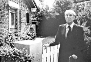 Borges en Adrogué