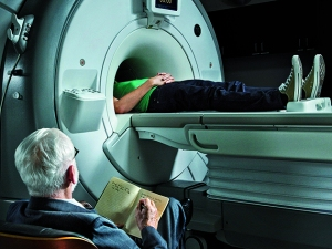 NEW YORK, NY - JUNE 11: MRI machine is photographed for New York Times Magazine - MAIN on June 11, 2015 in New York City. PUBLISHED IMAGE. (Photo by Jeff Riedel/Contour Style by Getty Images)