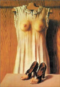 """Filosofía del tocador"", de René Magritte."
