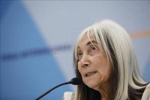 La viuda de Jorge Luis Borges, María Kodama. EFE/Archivo