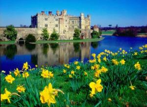Leeds Castle in Spring
