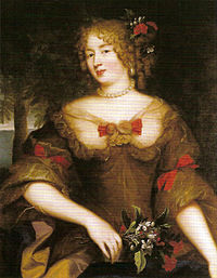 La marquise de Sévigné, peinte par Claude Lefèbvre.