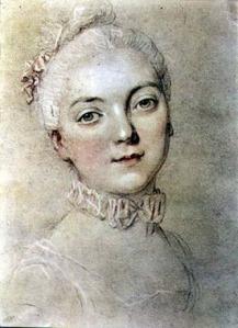 Madame du Barry par Francois-Hubert Drouais