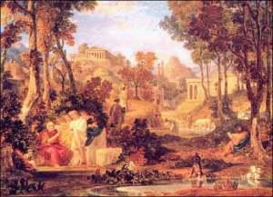 The Grove of Academus, Site of Plato's Academy.