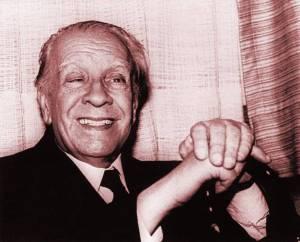 Jorge Luis Borges en agosto de 1981 en Ciudad de México. SABETTA AFP/Getty Images