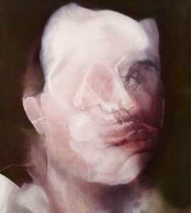Hugo Bonamin 2013, Untitled after Lord Byron, Oil on canvas, 222×199 cm