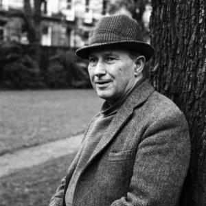 Photograph of Robert Garioch by Gordon Wright