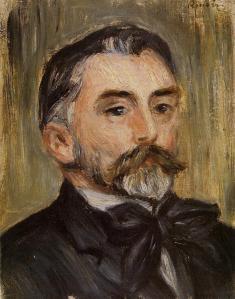 Stephane Mallarme par Pierre-Auguste Renoir