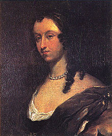 Aphra Behn. Portrait by Mary Beale.
