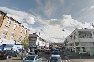 The incident happened in Leytonstone High Road Google Streetview