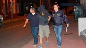 El suboficial de la Prefectura Naval, delegación Paraná, Orlando Ojeda, asesinó el sábado a dos mujeres. Diario UNO de Parana / Archivo Clarín.